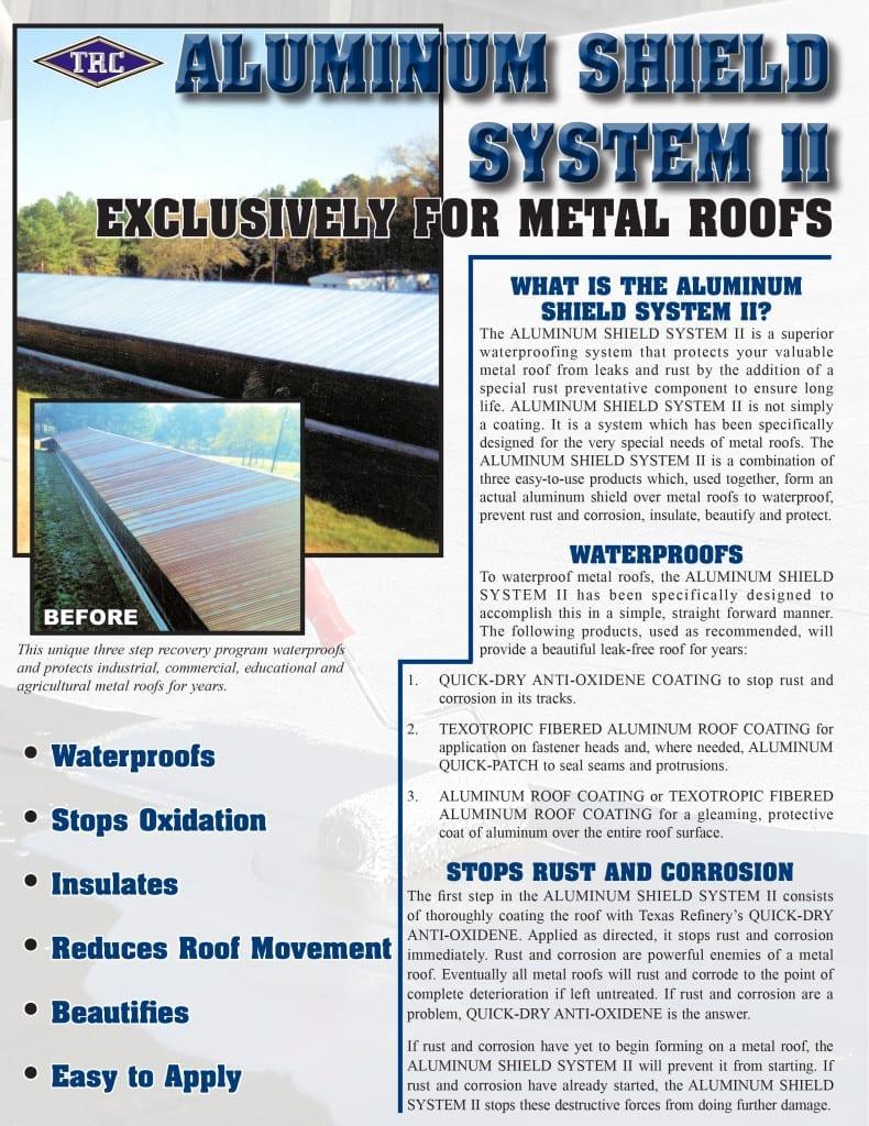 Aluminum Shield System II